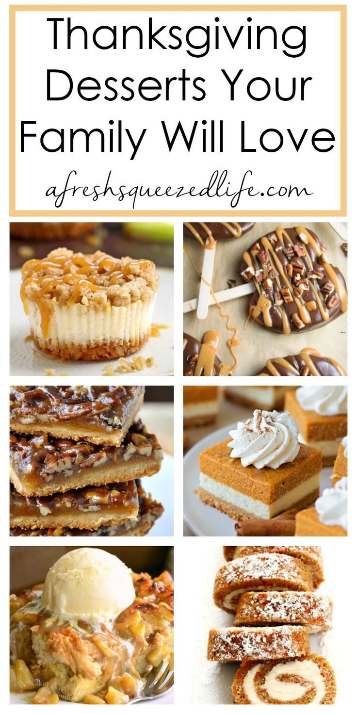 18 thanksgiving desserts for a crowd ideas