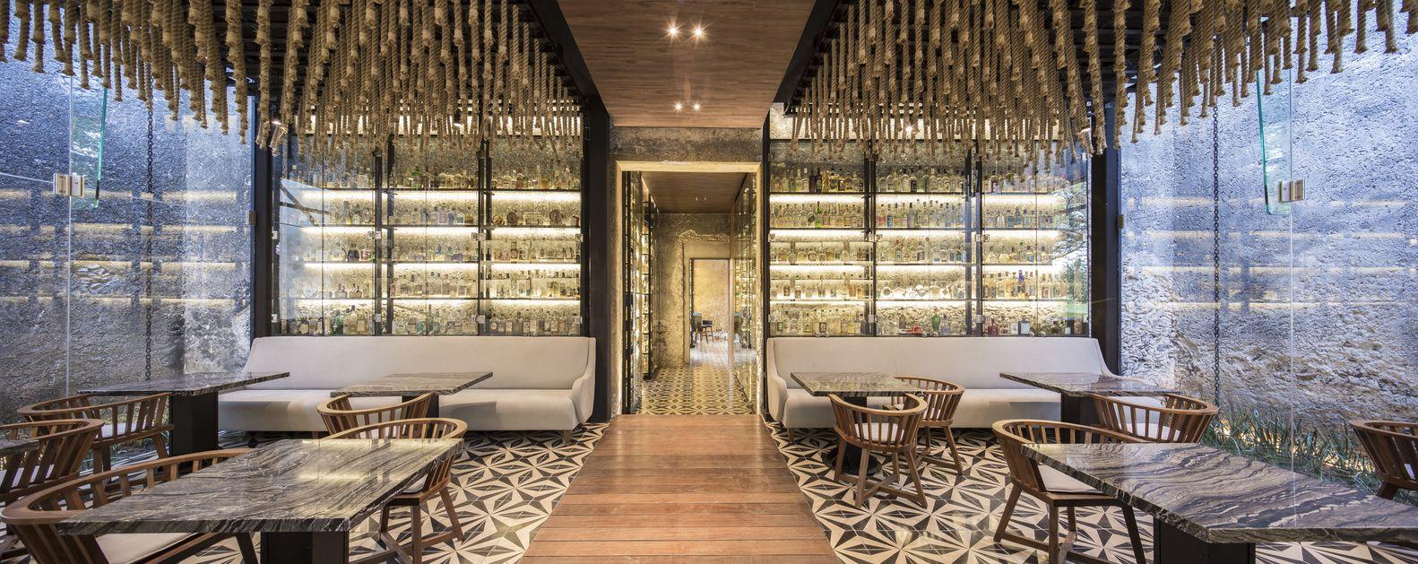 Wohndesign innenraum gallery of ixiuim restaurant  jorge bolio arquitectura  lavalle