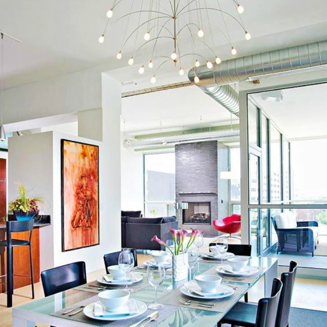 Stunning dining room for your future home || Get relaxed in among ...