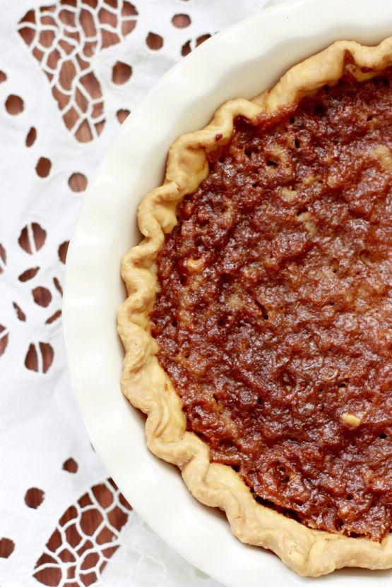 Grizzly Bear Pie - walnuts, honey, cream.... wonderful