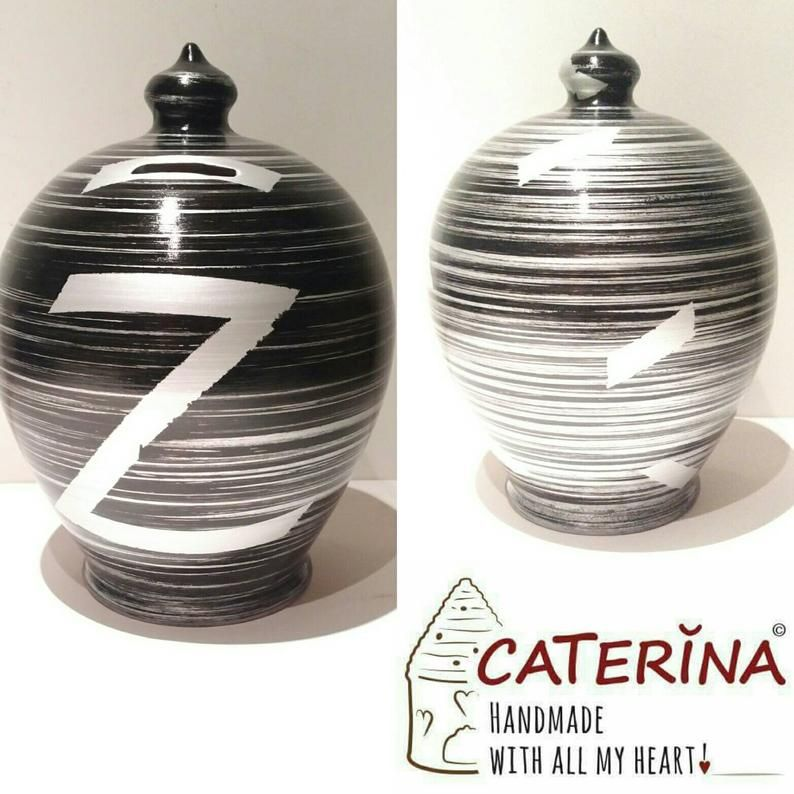 Pottery Anniversary Gifts For Men Adult Piggy Bank Coin Bank