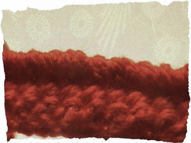 Margarita Knitting: Cómo se hace: punto cangrejo a crochet   Crochet ...