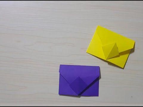 Photo of 편지지 접는법 (origami envelope) 엄청 쉬워요!