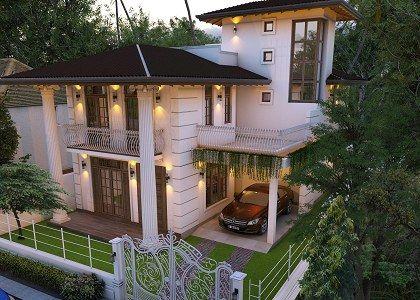3D Archviz Modern House Sri Lanka by Thilina Liyanage