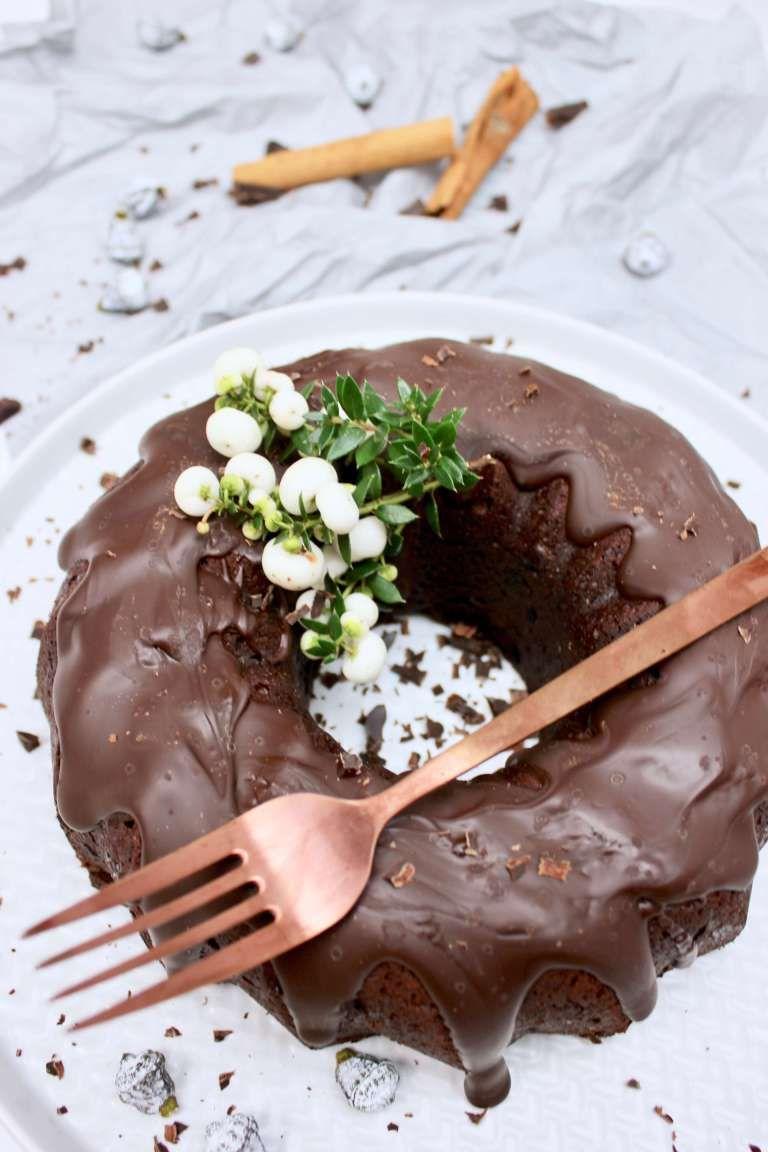 So Saftig Dieser Gluhwein Kuchen Ein Guglhupf Mit Schwipps Und Vieeel Schokolade Beste Kuchen Kuchen Und Torten Kuchen