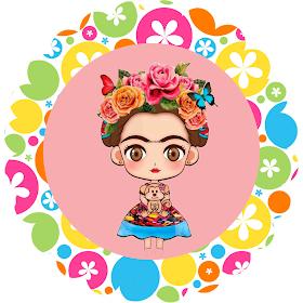 Fiestas Personalizadas Imprimibles Imprimibles Gratis Frida Kalho Coloring Bookmarks Ladybug Wallpaper Mexican Baby Shower