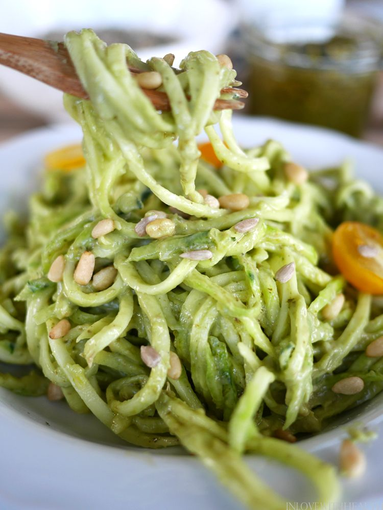 Pasta Pesto with Creamy Avocado Pasta Pesto with Creamy Avocado