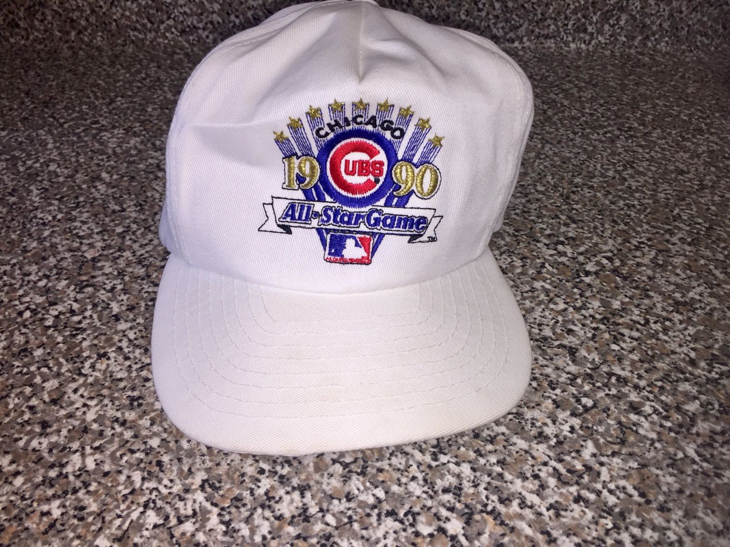 e546dc8a1 Vintage 1990 Chicago Cubs All Star Game Hat snapback starter jersey sosa  sandberg bryant rizzo reed