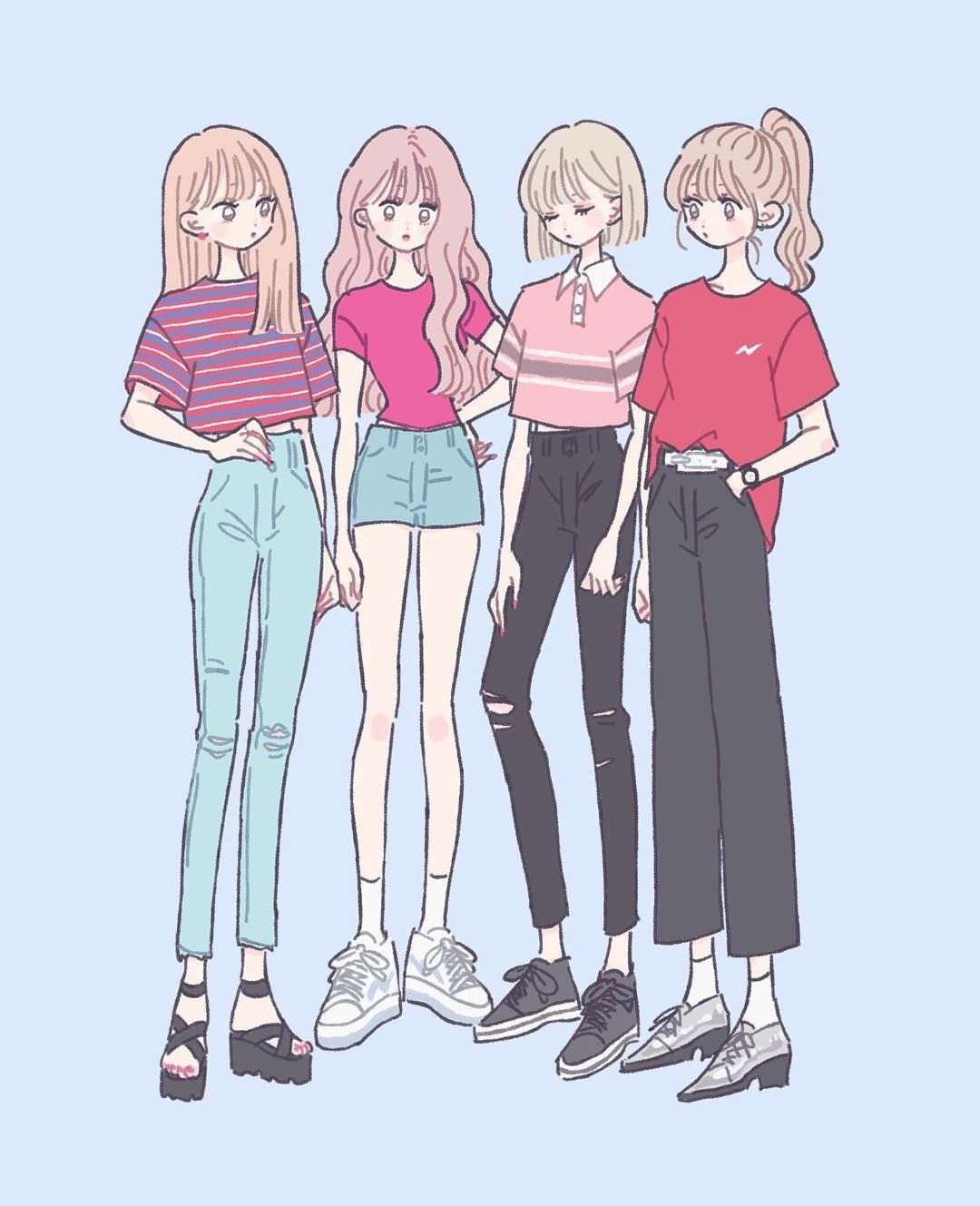 ふくほしい Illustration イラスト 女の子 ファッション Art In