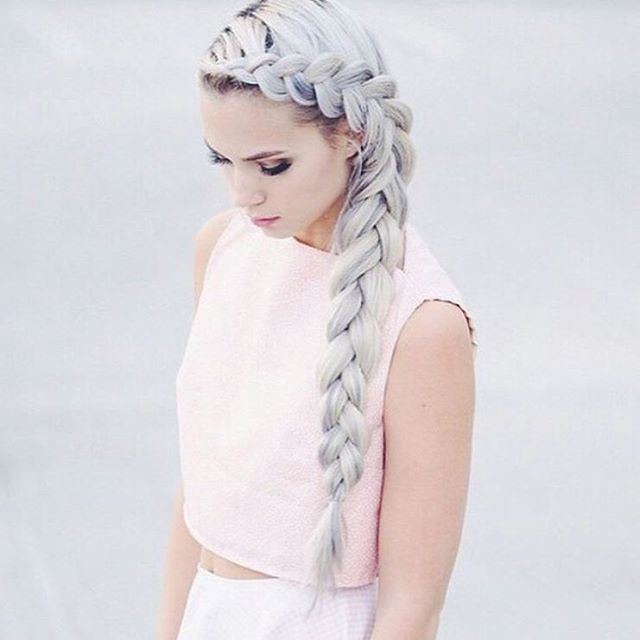 Modern Granny Look Super Angesagte Haarfarbe 2016 Hair Colors