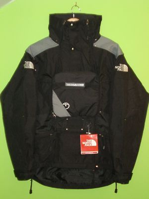 STEEP TECH Jacket Parka Hooded Black//Gray MEN/'s All Sizes THE NORTH FACE