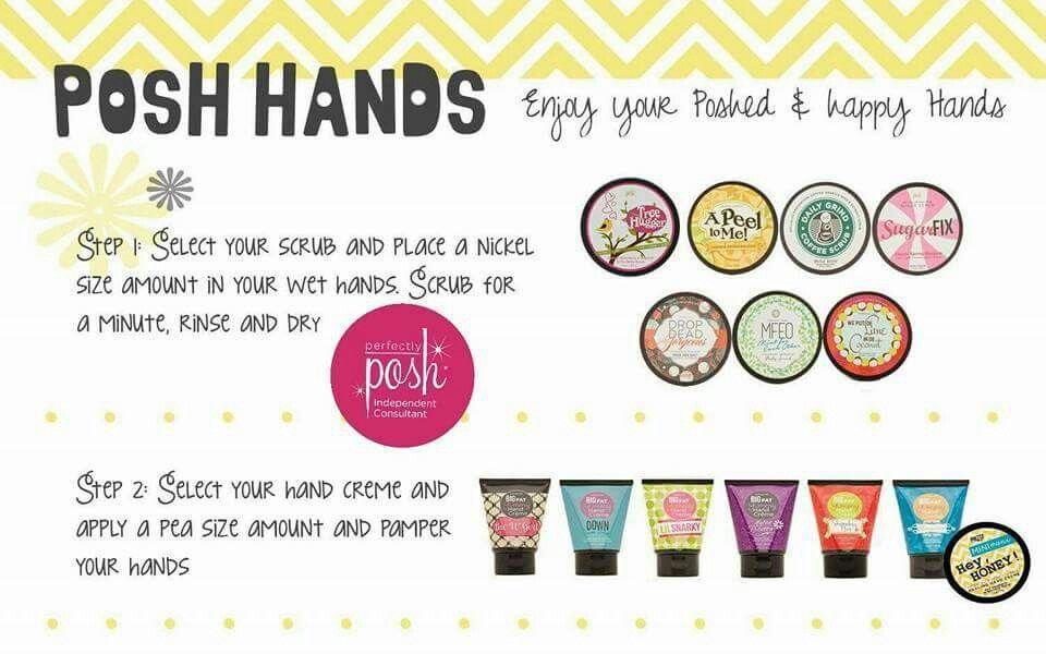 Posh hands