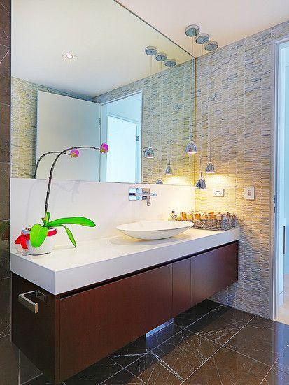Open Plan Kitchen, Contemporary Powder Room, Sydney ...