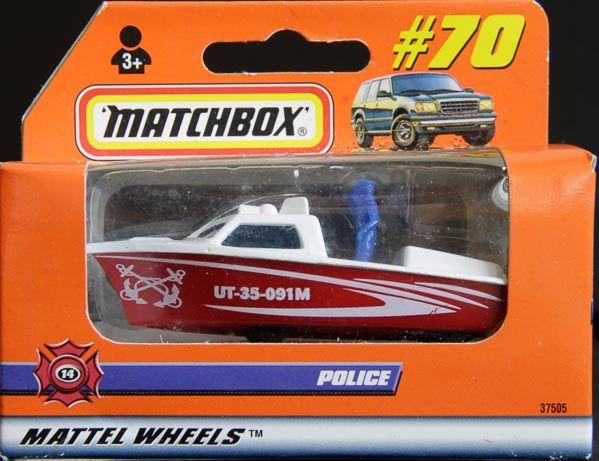 Model Matchbox Police - loď