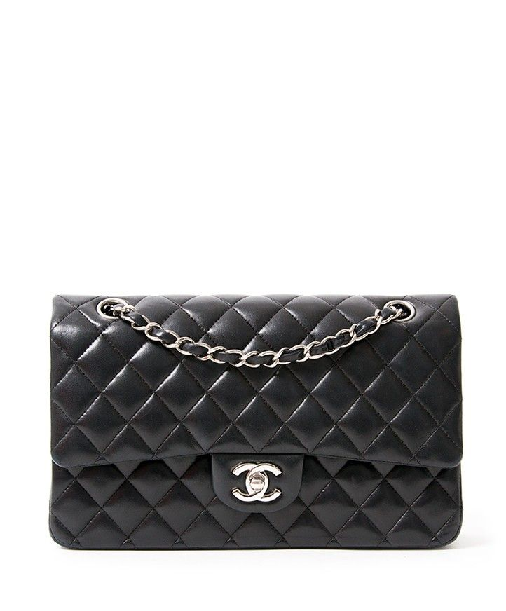 Chanel Medium Classic Flap Bag Lambskin Your Go To Shopping Place For Vinatge Pre Loved Desi Chanel Mini Lambskin Chanel Cross Body Bag Chanel Mini Flap Bag