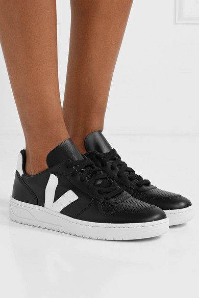 Veja + NET SUSTAIN V 10 leather sneakers | Leather