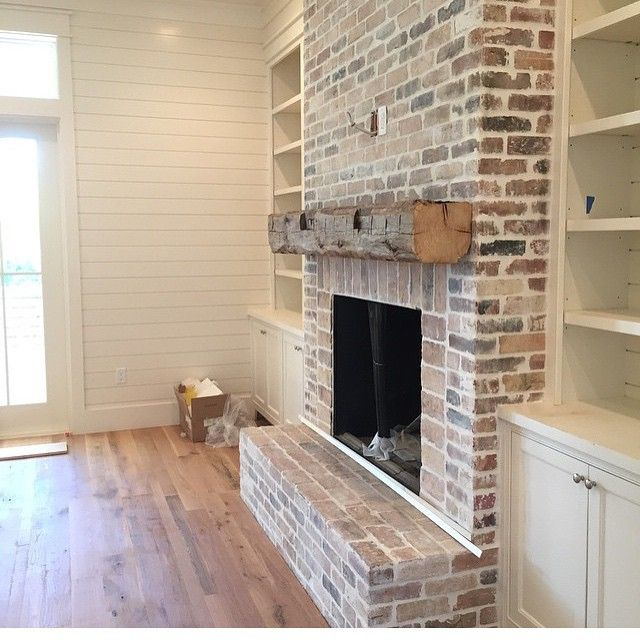 Amazing Brick Fireplace Part - 1: Pinterest