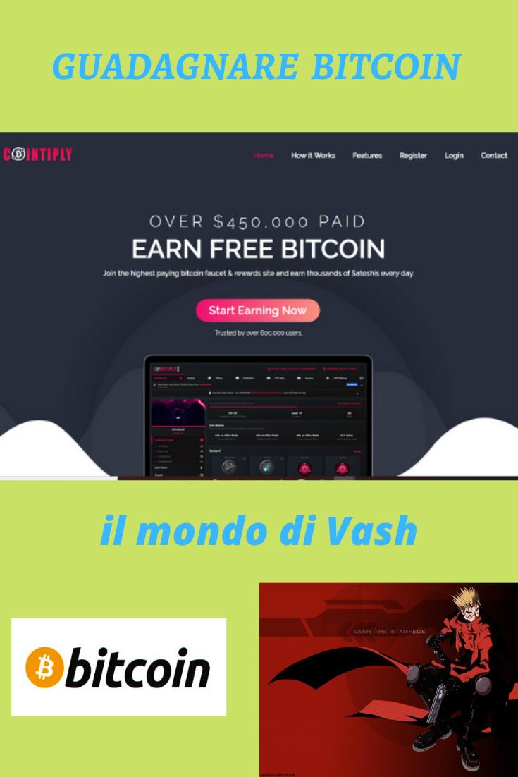 come guadagnare soldi online tramite bitcoin