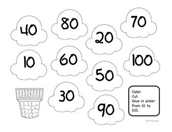 Count By 10 Ice Cream Fun Counting By 10 Fun Math Activities Kinder Math Activities Kindergarten counting by tens worksheets