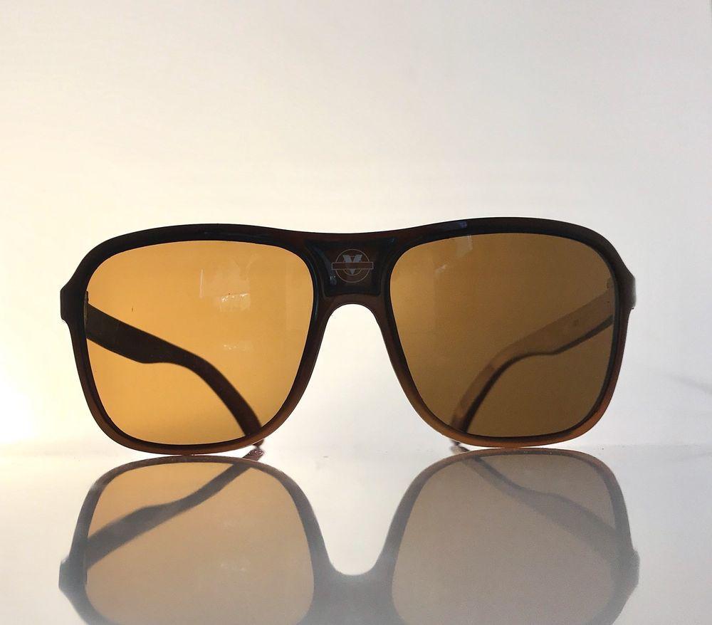 2edbb146ae73 Vintage 80s Vuarnet 003 PX 2000 Brown Lens Frame Aviator Nylon Sunglasses  France #Vuarnet #Aviator