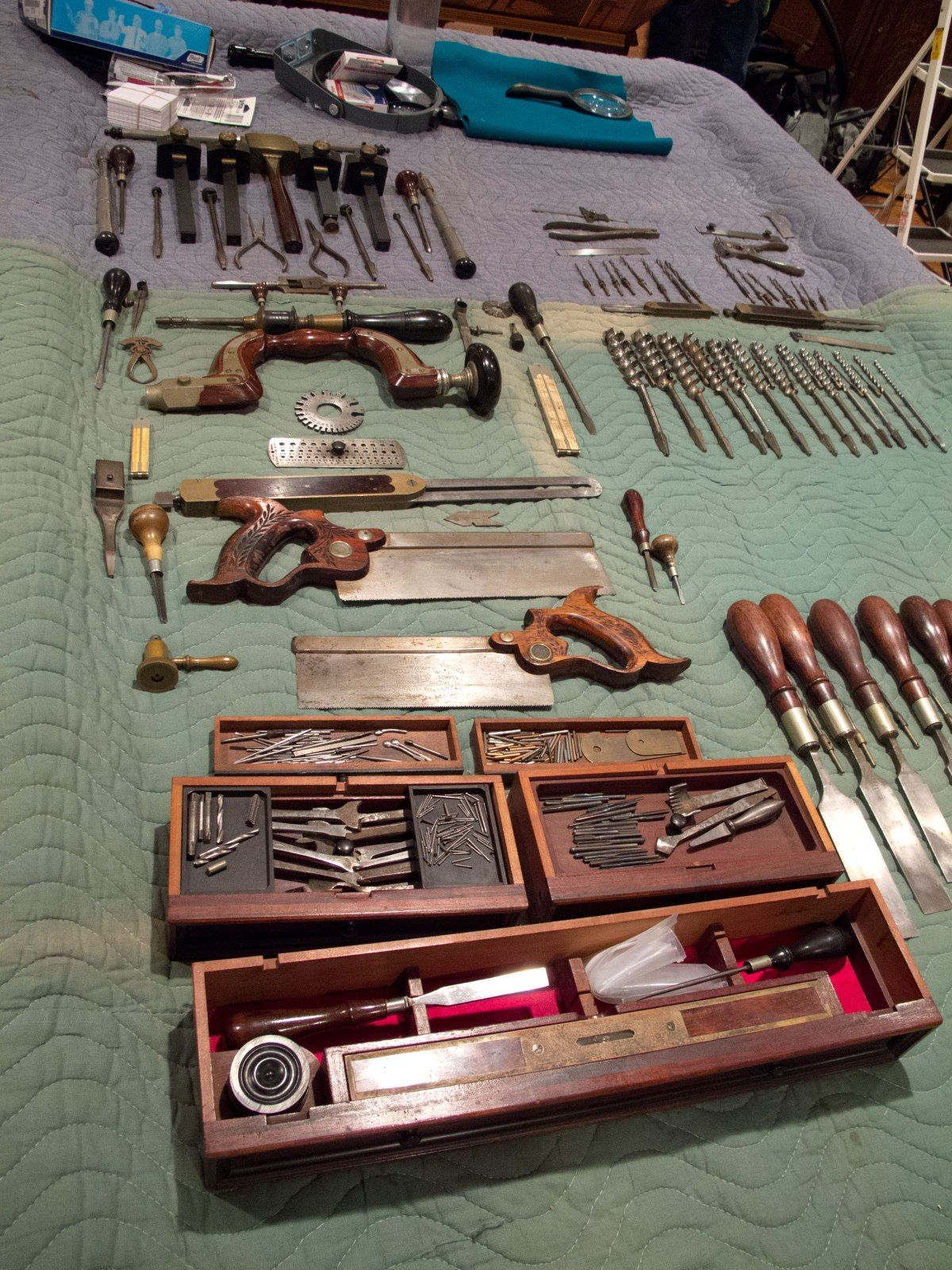 We Moved the Studley Tool Chest   Woodworking tools for ...