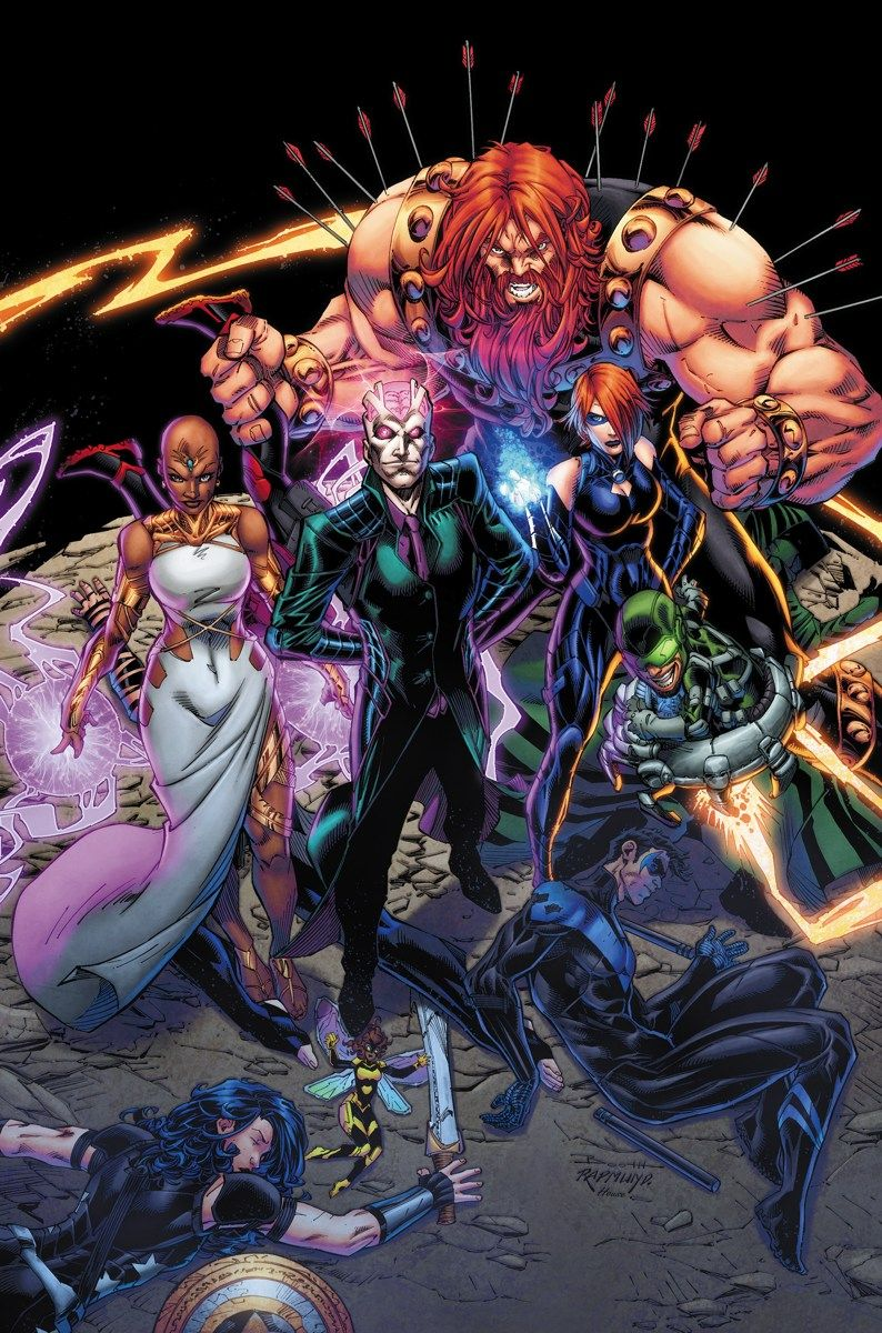 Titans #2 Written By Dan Abnett €� Art And Cover By Brett Booth And Norm