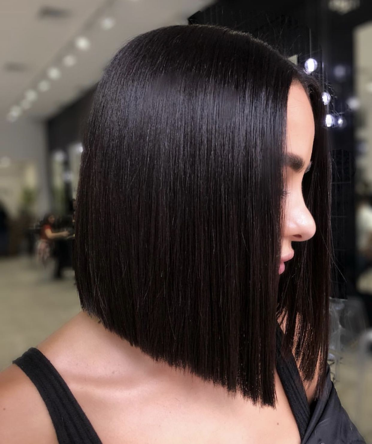 Pin By Rose London On Hair Thick Hair Styles Straight Hairstyles Hair Styles