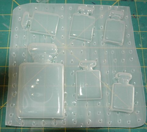 Magic Lamps Flexible Plastic Resin Mold ~ 2 pc