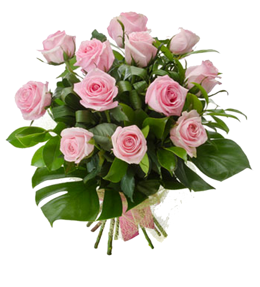 Pink Roses Flowers Bouquet PNG Photo Fiori, Piante