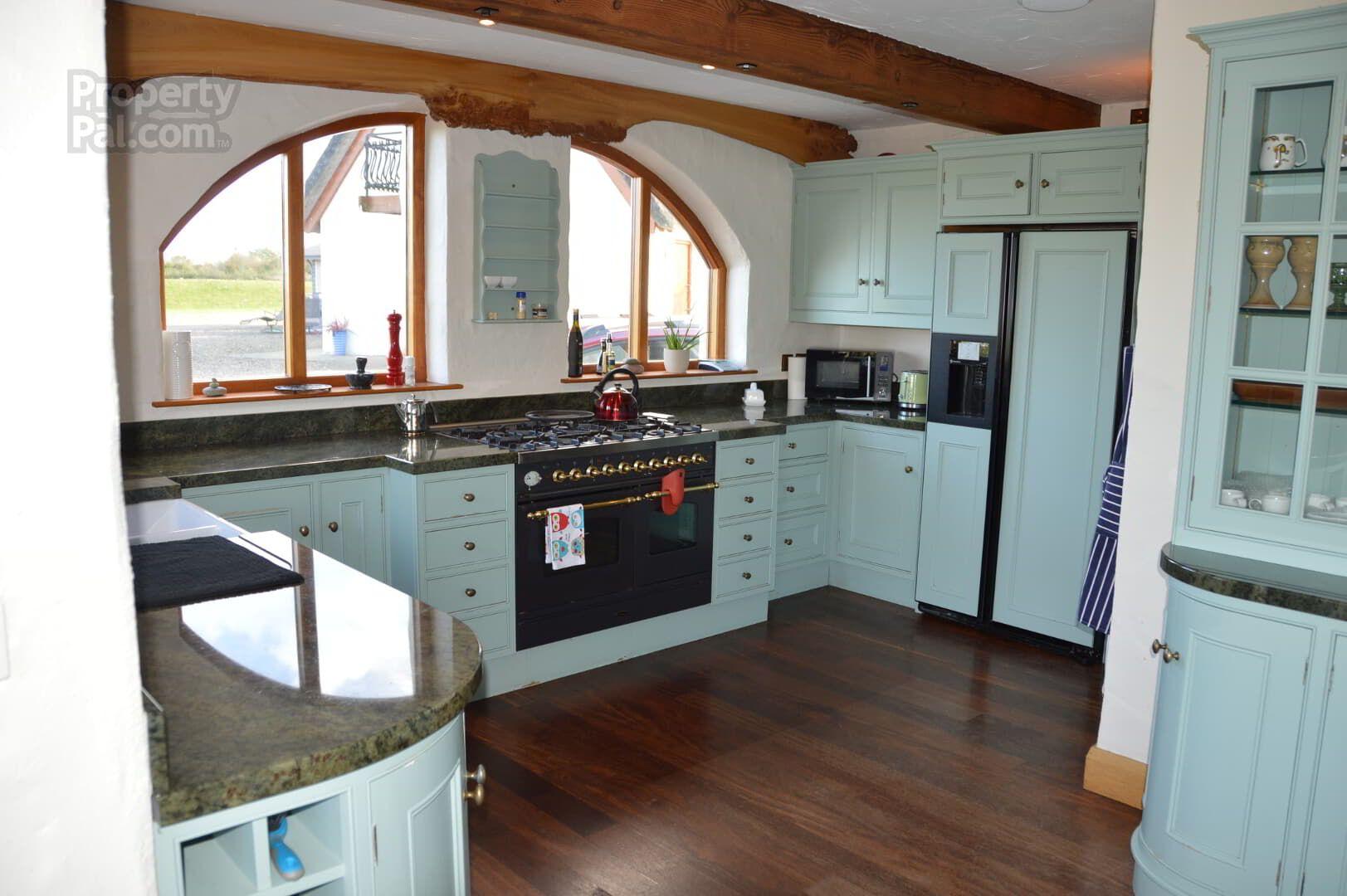 111 & 111A Gracehill Road, Stranocum, Ballymoney #kitchen #turquoise ...