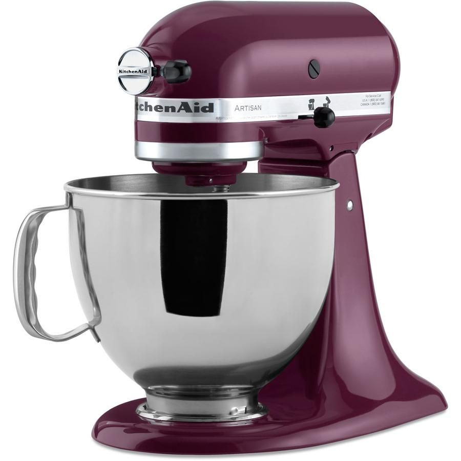 Mom would love a KitchenAid Artisan 5-quart 10-speed boysenberry ...