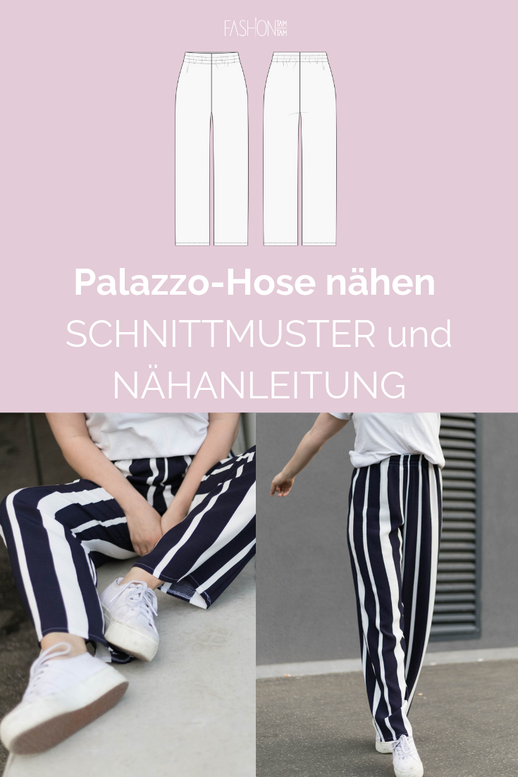 Photo of DIY: Palazzo Hose nähen – fashiontamtam.com