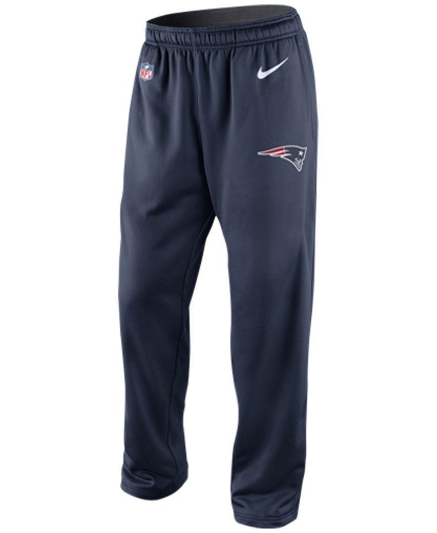 sale retailer 47b5f 7d70c Nike Men s New England Patriots Ko Fleece Pants