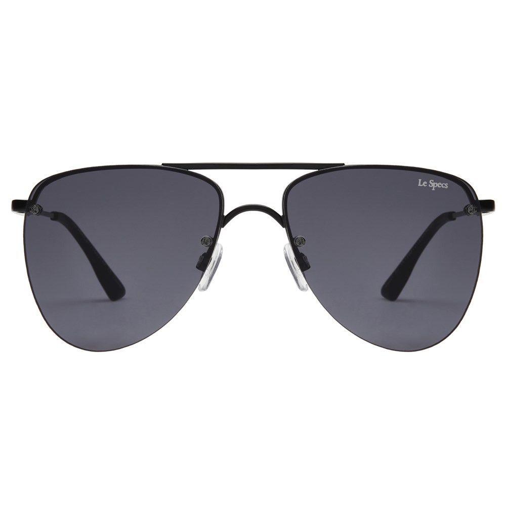 fac6bf1480c9e Le Specs The Prince Matte Black Sunglasses