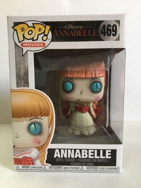 Funko Pop Movies Horror Annabelle 469 Vinyl Figure Brand New Ebay Pop Toys Funko Pop Dolls Funko Pop Horror