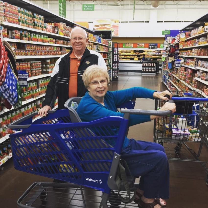 Frustrated Mom Invents Shopping Cart That Helps Seniors