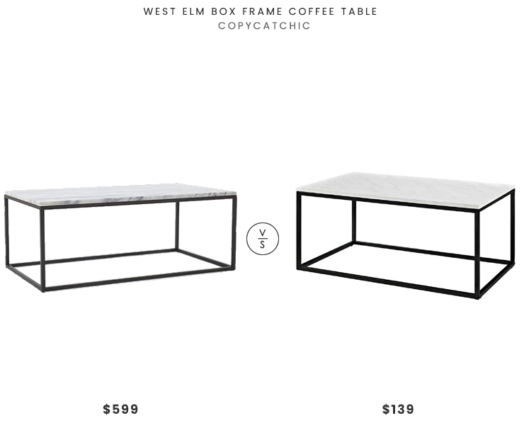 Daily Find Coffee Table Coffee Table Frame Glam Living Room