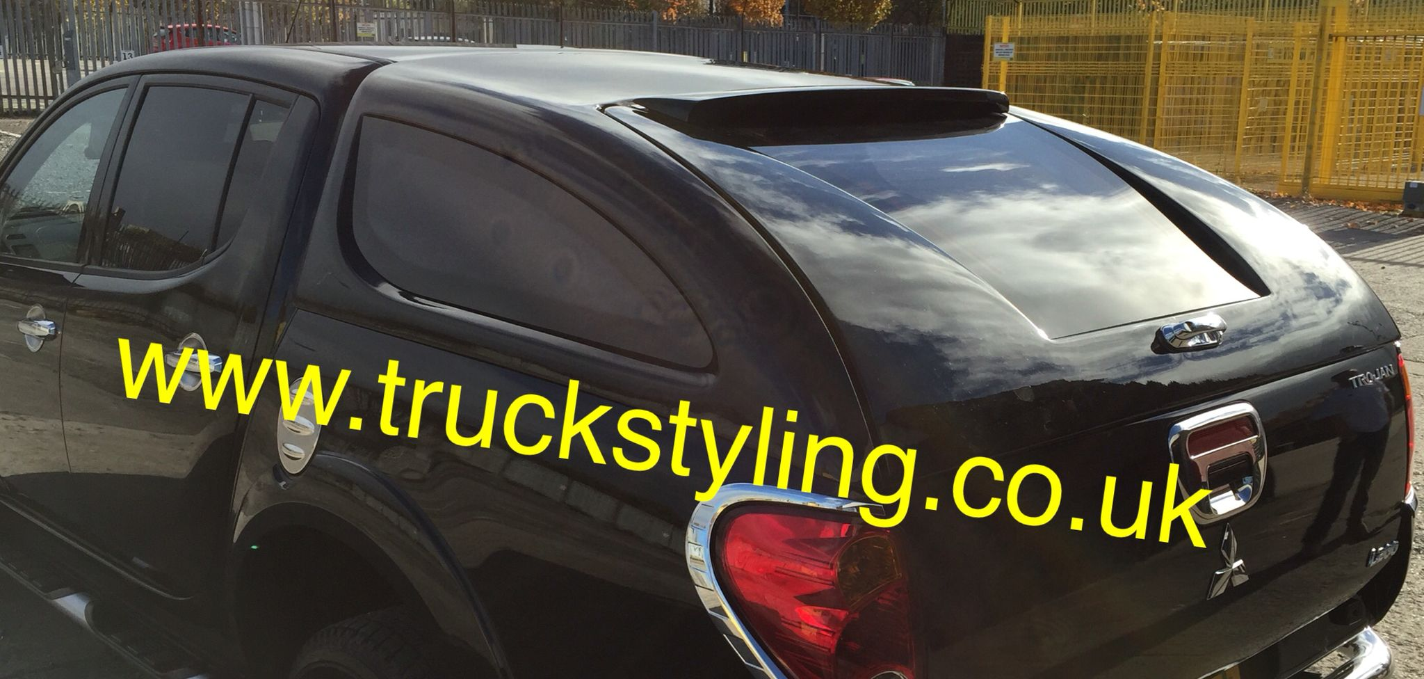 This Is The Sloping Hard Top Canopy For Short Bed Mitsubishi L200 2006 2015 Models Free Fitting From CH41 3QZ Wirral Merseyside