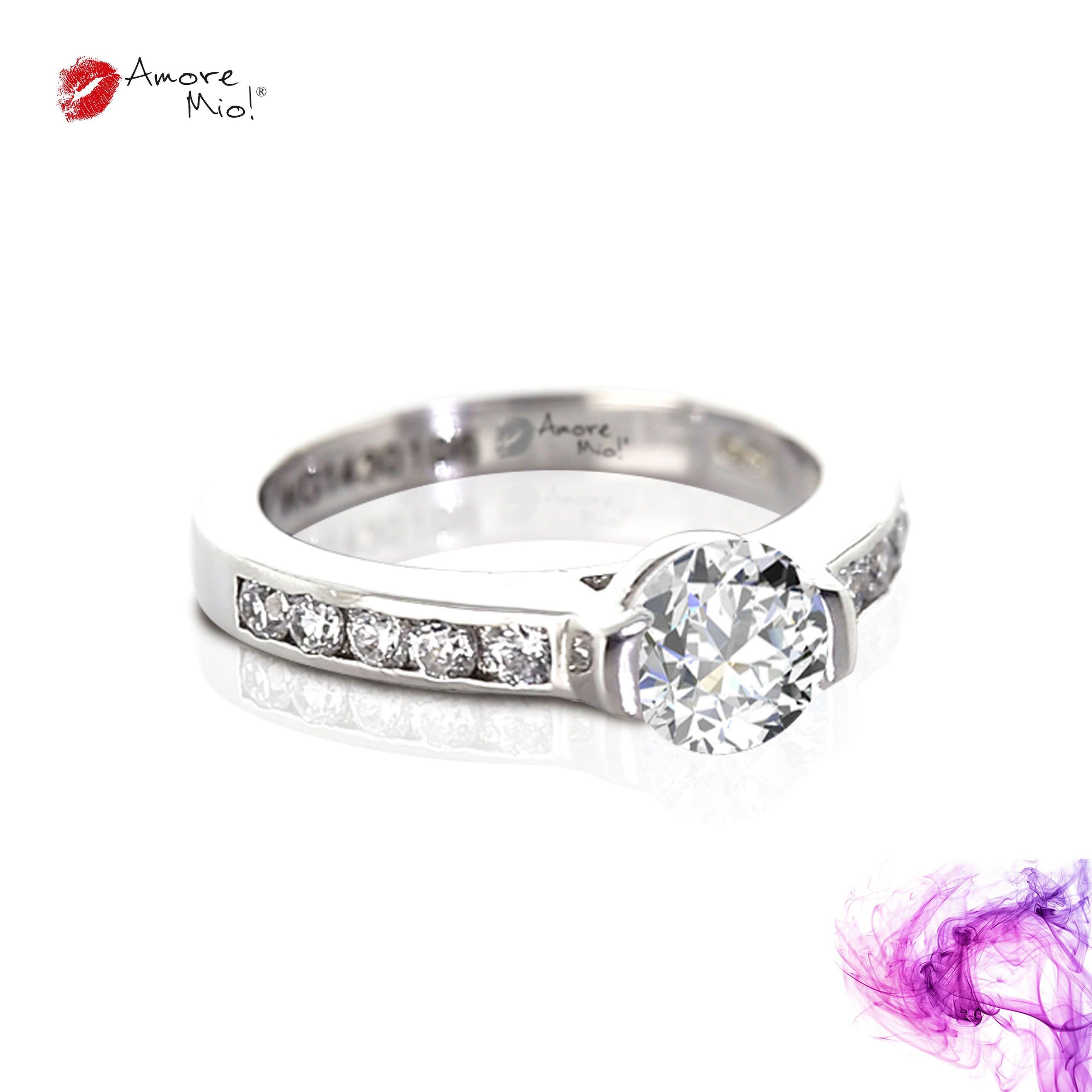 Anillo de oro Blanco 14Kt Modelo: WG1430106 Diamante Redondo 1.02 quilates. Color-F Claridad SI2 Laboratorio- EGL, SKU Diamante: 1136201655 Precio: $88,169.35 pesos M.N *Consulte términos y condiciones