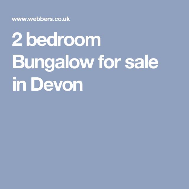 2 bedroom Bungalow for sale in Devon
