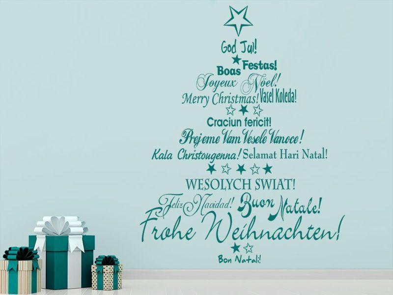Frohe Weihnachten In Allen Sprachen.Frohe Weihnachten In Verschiedenen Sprachen Sagen Sie Es
