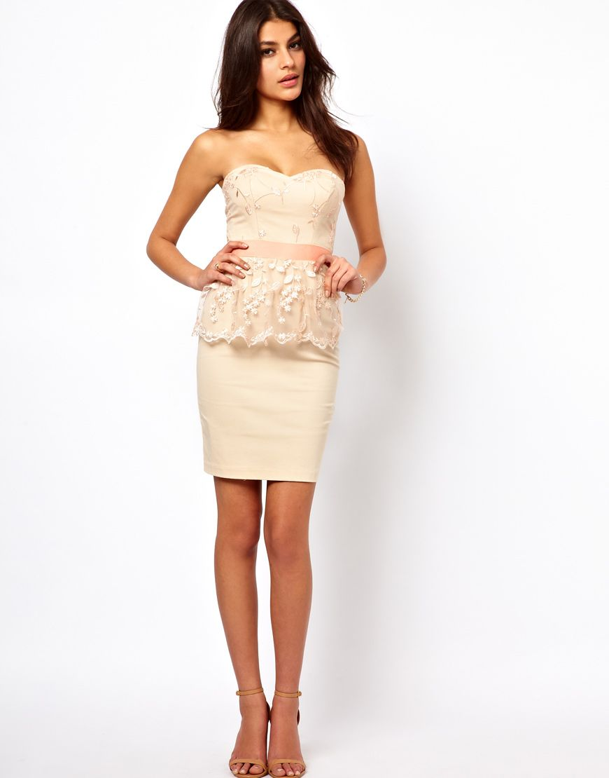 Elise ryan embroidered lace peplum dress lace peplum and elise ryan embroidered lace peplum dress ombrellifo Images