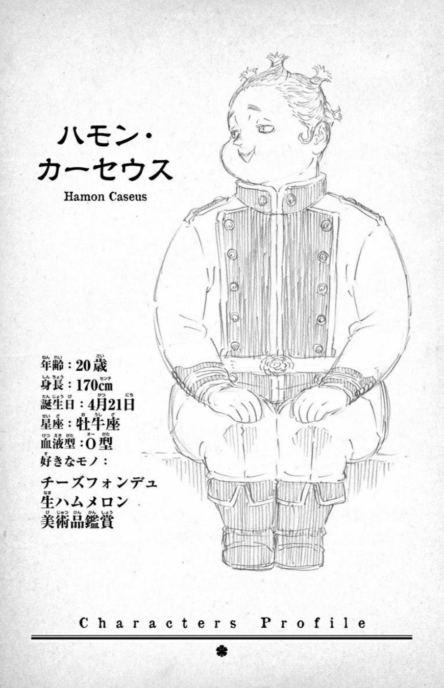List of Character Profiles Black Clover Wiki Fandom in
