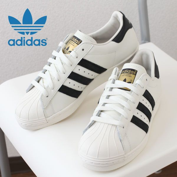 new style 0c98b 84305 2015 spring summer   adidas Originals SUPERSTAR 80 s VINTAGE DELUXE  core  black off-white, vintage white, adidas originals superstar vintage Deluxe  men s ...
