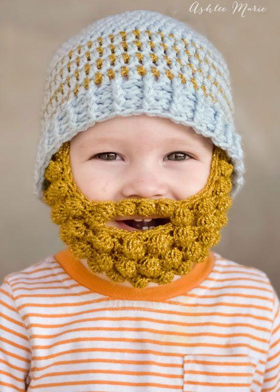 Inspiração  toucas de frio divertidas para crianças  928885fc70d