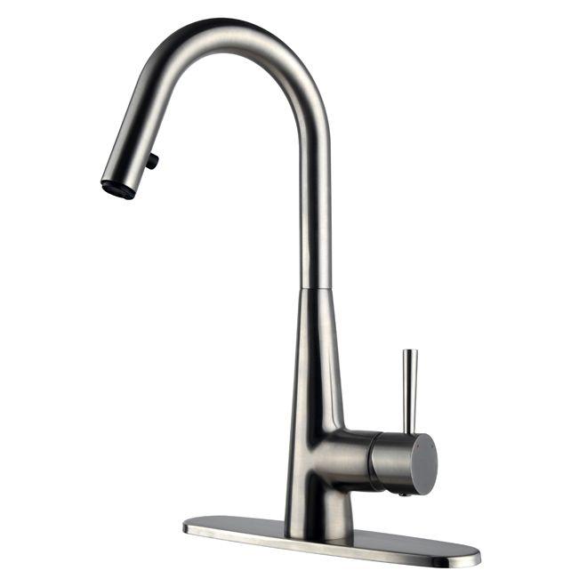 Rona $87 (reg $174 CLEARANCE) Uberhaus 1-Handle Kitchen Faucet ...
