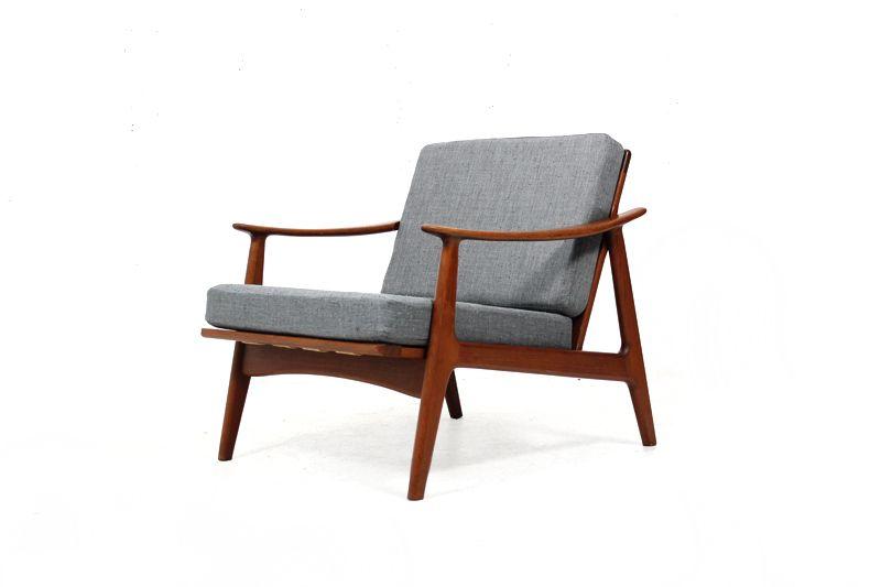 60er Teak Sessel l Easy Chair l danish modern l Ib Kofod