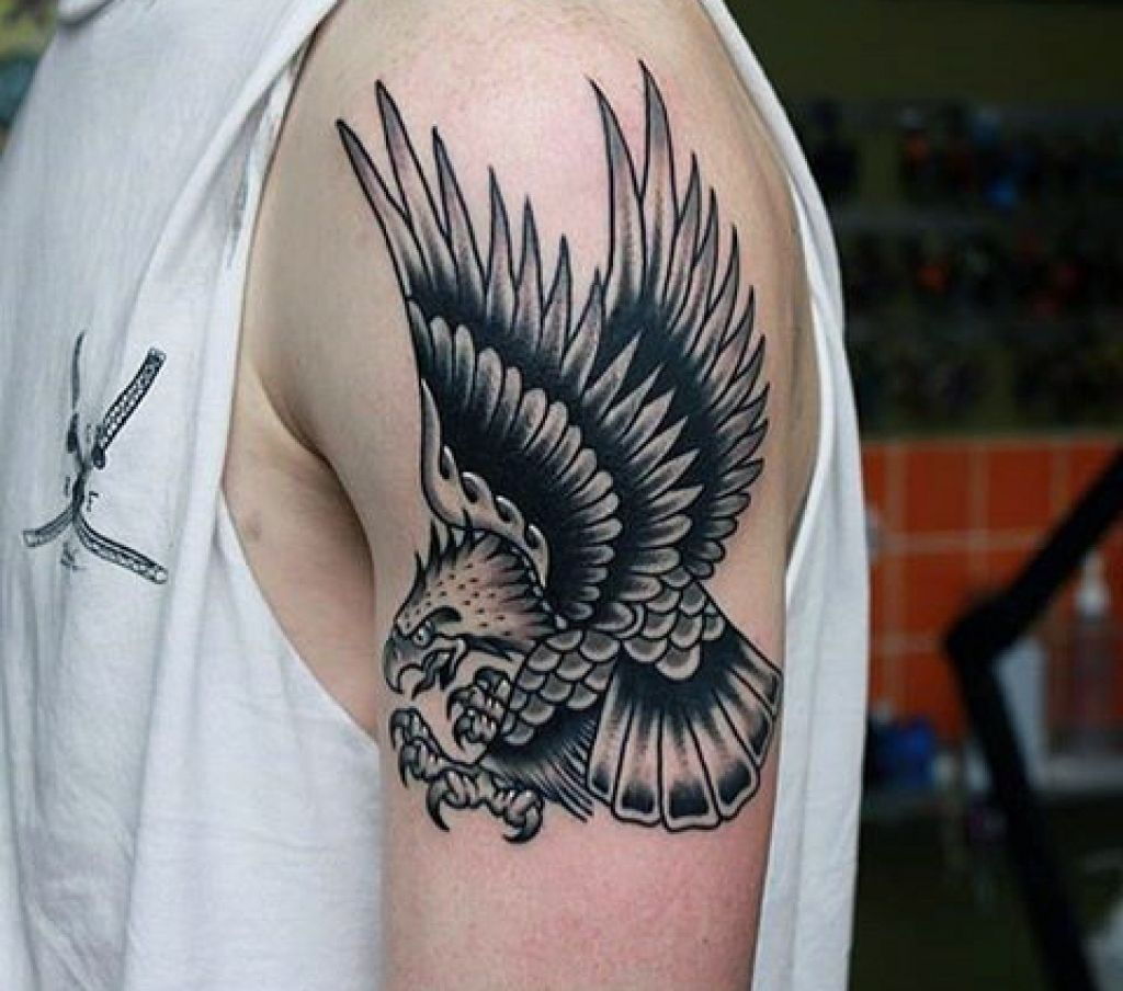 12 Best Eagle Tattoo Images And Designs Ideas: 75 Eagle Tattoos For Men A Soaring Flight Of Designs