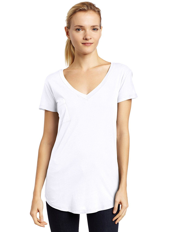 95e133993f0 LAmade Women's Pocket T-Shirt at Amazon Women's Clothing store ...