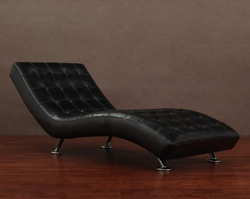 office chaise lounge.  Office BlackLeatherChaiseLoungeModernChairContemporaryFurniture With Office Chaise Lounge B